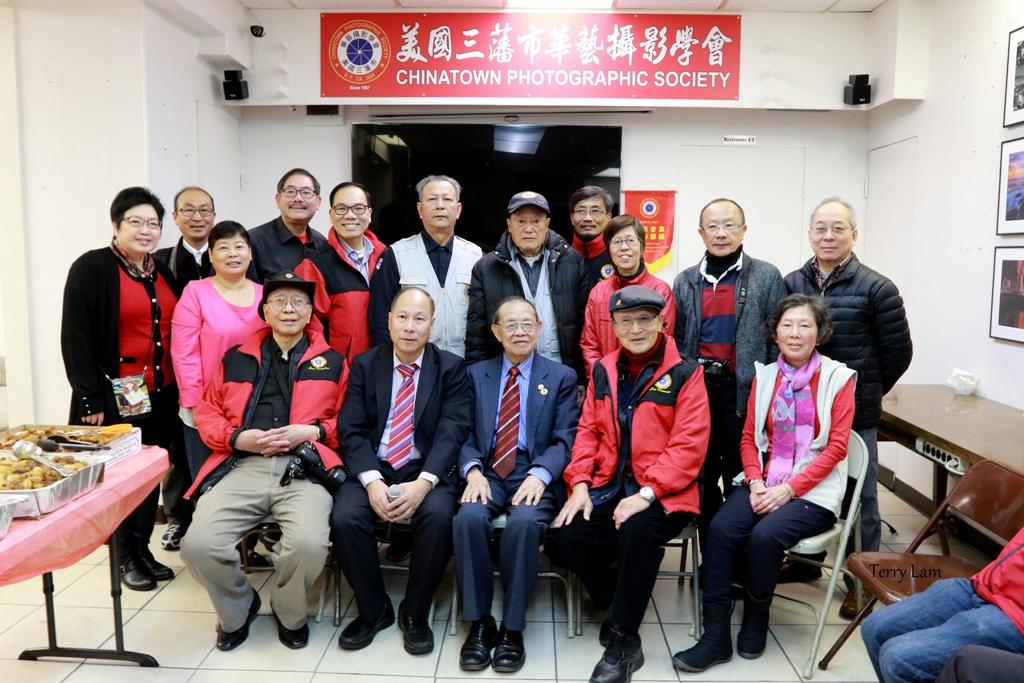 2017-2018年度華藝攝影學會董事會成員(部分)合照